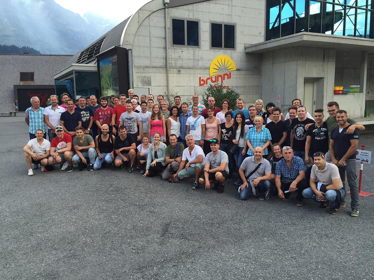 Kletterausrüstung Zürich : Gemeinsamer firmenausflug der rolf zürcher ag mit tevag interior